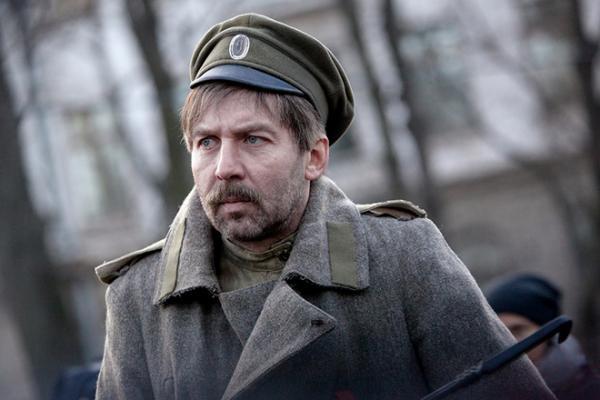 Кирилл Полухин во время съемок