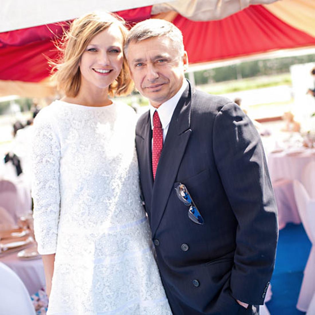 Антон Табаков и Анжелика