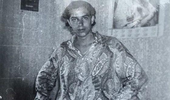 Александр Никитин в молодости