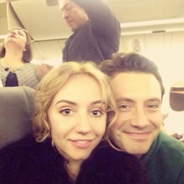 На фото: Алексей Анищенко и Полина Кутихина