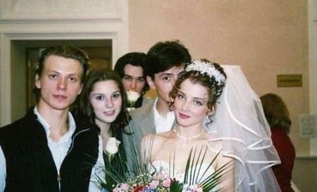 На фото: Алексей Анищенко с первой женой