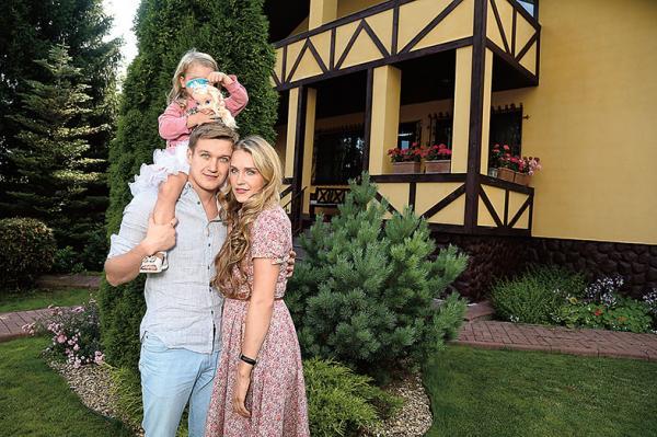 Анатолий Руденко, его жена и дочь