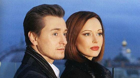 Сергей с первой женой Ириной