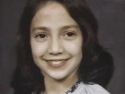 На фото: Дженнифер Лопез в детстве