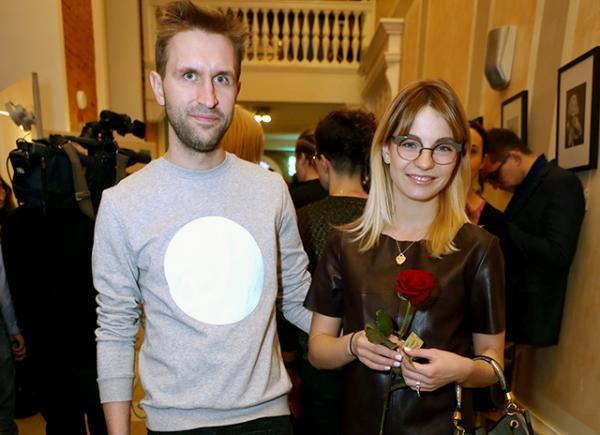 Иван Добронравов с женой