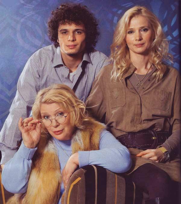 Галина Польских с дочерью Марией и внуком Филиппом