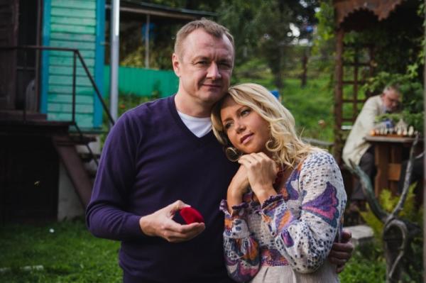 На фото: Яна Шивкова во время съемок фильма «не покидай меня, любовь»