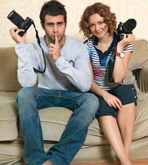 На фото: Иван Ургант и Татьяна Геворкян