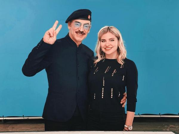 Михаил Боярский с внучкой Екатериной
