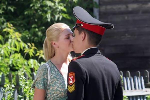 Ксения Непотребная в сериале «Кадетство»