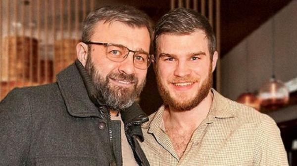 На фото: Михаил Пореченков и его сын Владимир