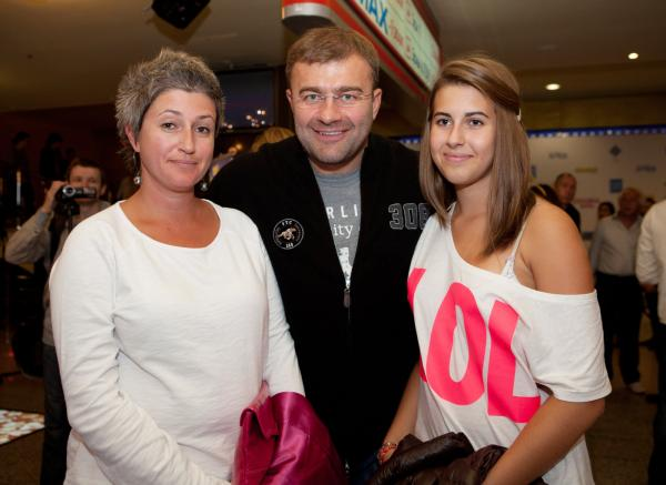 Михаил Пореченков, Екатерина Подвальная и их дочь Варвара