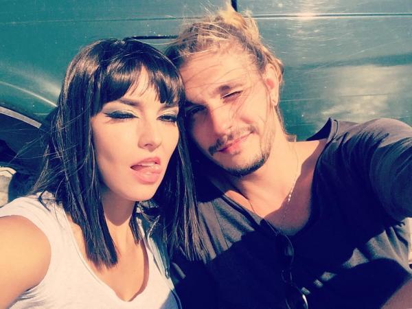 На фото: Юлия и Андрей Карр