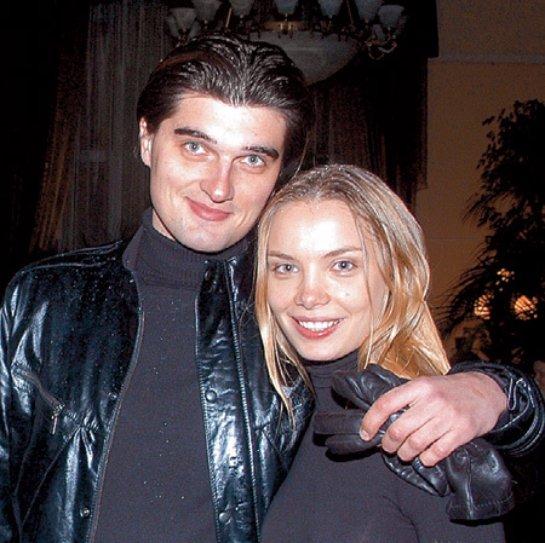 На фото: Ольга Арнтгольц с бывшим мужем Вахтангом Беридзе