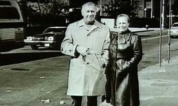 Надежда Каратаева с мужем
