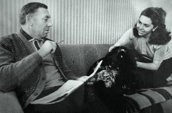 Папанов с дочерью Леной