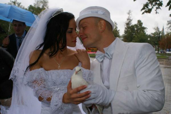 Никита Панфилов и его вторая жена Лада