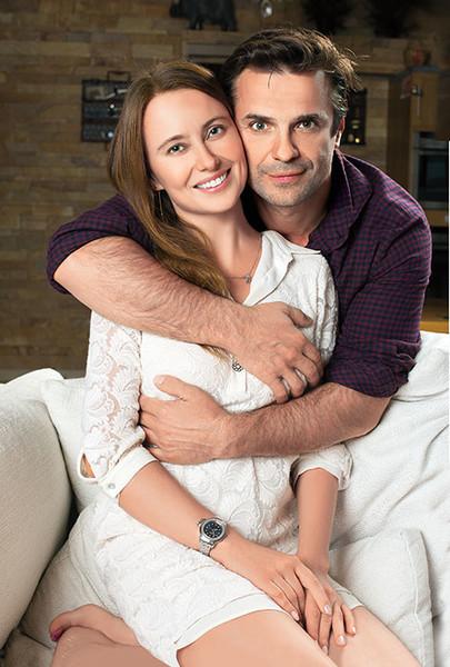 Астазов и его гражданская жена Виктория Савкеева