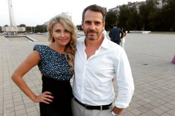 На фото: Павел Делонг и Екатерина Архарова