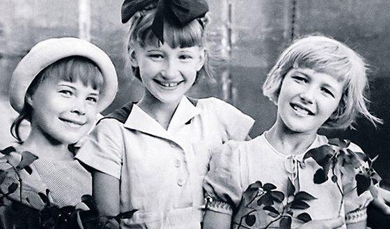 На фото: Светлана Дружинина в детстве