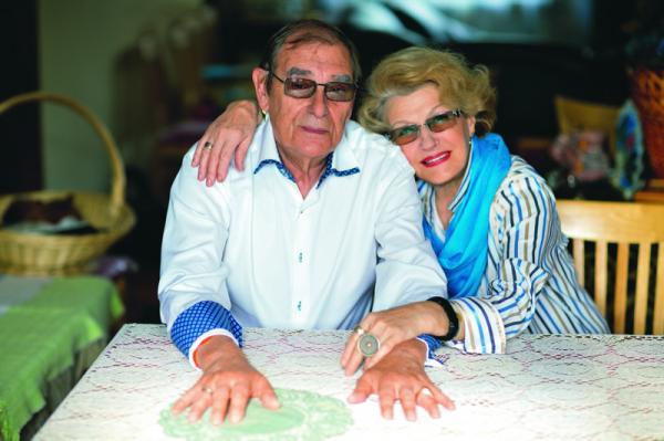 На фото: Светлана Дружинина и Анатолий Мукасей