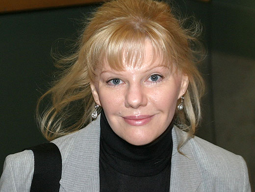 Вторая жена Владимира Стеклова Александра Захарова