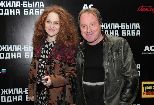 Владимир Стеклов и его старшая дочь Агриппина