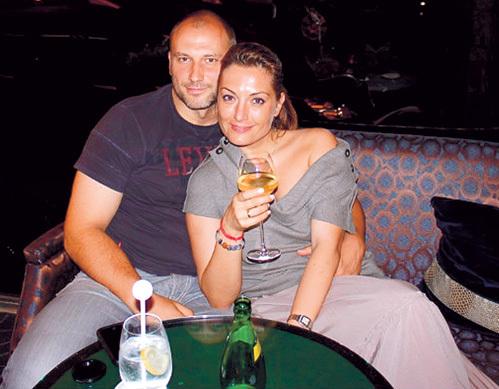 На фото: Константин Соловьев и Евгения Ахрименко